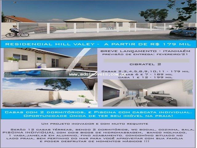 casa para venda no bairro Cibratel 2 em Itanhaém